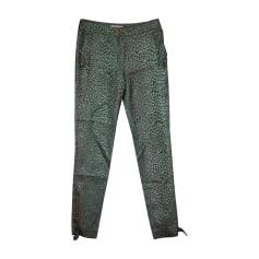 Skinny Pants, Cigarette Pants MATTHEW WILLIAMSON Green