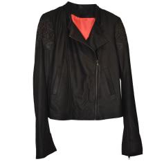 Leather Jacket ONE STEP Black