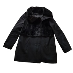 Cappotto in pelliccia THE KOOPLES Nero