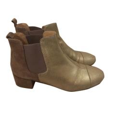 Bottines & low boots à talons MELLOW YELLOW Doré, bronze, cuivre