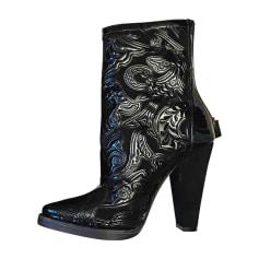 Cowboy Boots BALMAIN Black