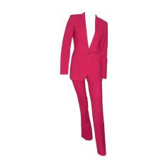 Tailleur pantalon BARBARA BUI Rose, fuschia, vieux rose