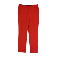 Straight Leg Pants EMILIO PUCCI Red, burgundy