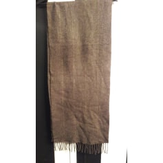 Scarf GIAN ALBERTO CAPORALE Brown