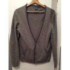 Strickjacke, Cardigan ARMANI EXCHANGE Grau, anthrazit