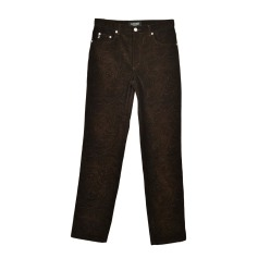 Pantalone dritto GUESS Marrone