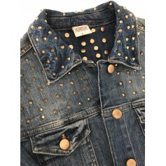 Denim Jacket ZARA Blue, navy, turquoise