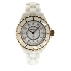 Wrist Watch CHANEL J12 White, off-white, ecru