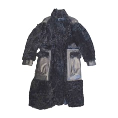 Manteau en fourrure BELSTAFF Noir