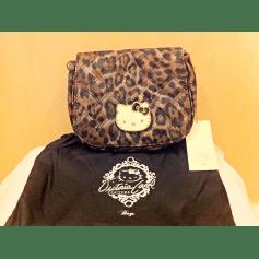 Sac à main en tissu HELLO KITTY BY VICTORIA COUTURE Motif léopard