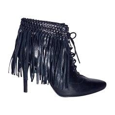 Bottines & low boots à talons BALMAIN Noir
