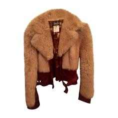 Fur Jackets DOLCE & GABBANA Beige, camel