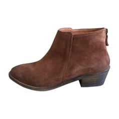 Bottines & low boots à talons ANTHOLOGY PARIS Beige, camel