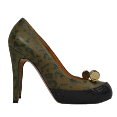 Pumps, Heels GOLDEN GOOSE Green