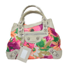 Non-Leather Handbag BALENCIAGA Velo Multicolor
