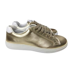 Sneakers CHURCH'S Gold, Bronze, Kupfer