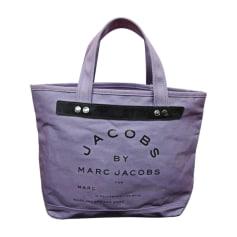 Pour Pas Cher Acheter Discount Promotion Sac à main en tissu MARC BY MARC JACOBS toile bleu Mode Pas Cher En Ligne 8UQel3F5k