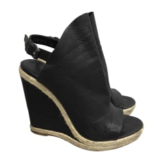 Wedge Sandals BALENCIAGA Black