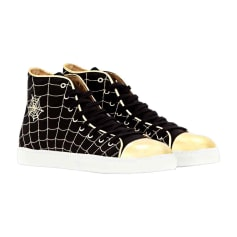 Baskets CHARLOTTE OLYMPIA Noir