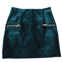 Mini Skirt SANDRO Green