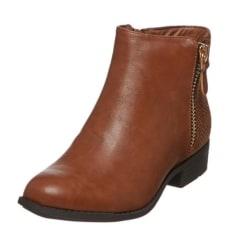 Bottines & low boots à talons LILY SHOES Beige, camel