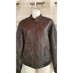 Zipped Jacket LE TEMPS DES CERISES Brown