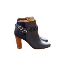 High Heel Ankle Boots SÉZANE Blue, navy, turquoise