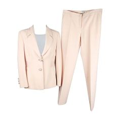 Tailleur pantalon VERSACE Beige, camel