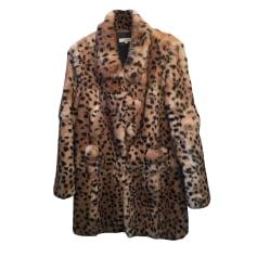 Fur Coat SANDRO Animal prints