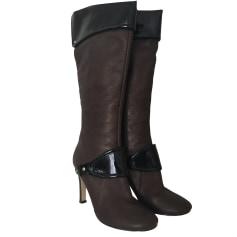 High Heel Boots NINE WEST Brown