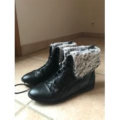 Bottines & low boots plates PINTO DI BLU Noir