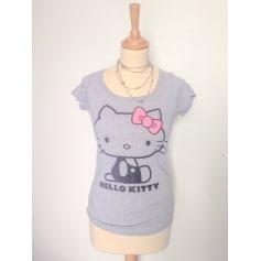 tendance articles Kitty Tops Hello shirts Videdressing Femme tee WfqRSaRwA