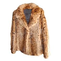 Cappotto in pelliccia MAJE Stampe animalier