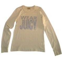 Top, t-shirt JUICY COUTURE Bianco, bianco sporco, ecru