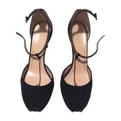 Sandali con tacchi GUCCI Nero