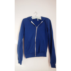 Sweat AMERICAN APPAREL Bleu, bleu marine, bleu turquoise