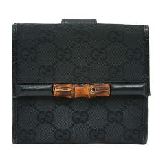 Wallet GUCCI Bambou Black