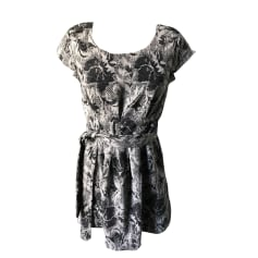 Robe courte AMERICAN RETRO Gris, anthracite