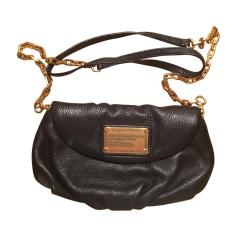 Leather Shoulder Bag Black