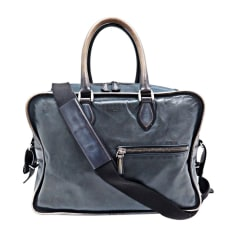 Satchel BERLUTI Gray, charcoal