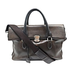 Satchel BERLUTI Brown