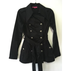 Imperméable, trench BETSEY JOHNSON Noir