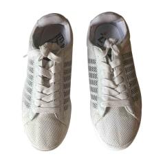 Baskets ARMANI EA7 Blanc, blanc cassé, écru