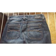 Jeans très evasé, patte d'éléphant TEDDY SMITH Bleu, bleu marine, bleu turquoise