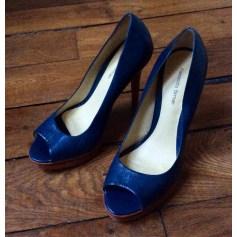 Escarpins à bouts ouverts ALEXANDRE BIRMAN Bleu, bleu marine, bleu turquoise