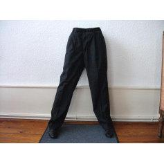 Pantalon droit ROCHAS Gris, anthracite