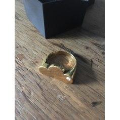Bague ADELINE AFFRE Doré, bronze, cuivre
