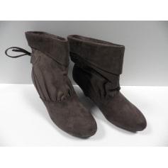 Low amp; Videdressing Tendance Pati Bottines Femme Boots Articles Poti OqnH7w
