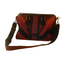 Leather Shoulder Bag DESIGUAL Multicolor
