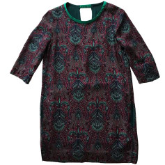 Tunic Dress SANDRO Red, burgundy